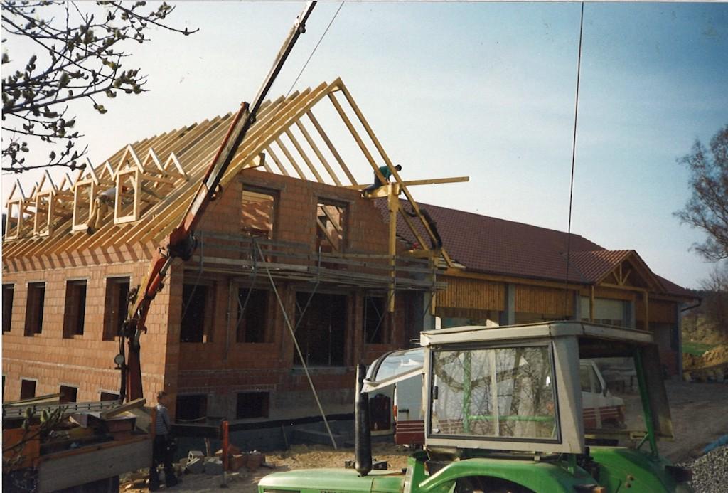 Neubau Werkstatt mit Bürogebäude